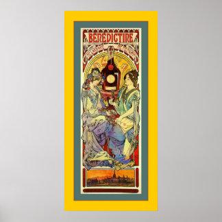 Benedictine ~ Vintage Advertising Print