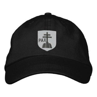 benedictines coat of arms baseball cap