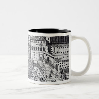 Benediction of The Pope in St.Peter's Square Two-Tone Coffee Mug
