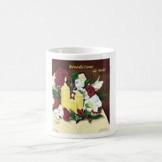 Benedictions de Noel grande tasse Mugs