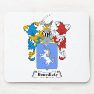 Benedicty Family Hungarian Coat of Arms Mouse Pad