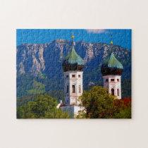 Benediktbeuern Monastery Germany. Jigsaw Puzzle
