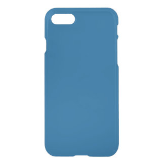 Beneficently Influential Blue Color iPhone 7 Case