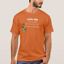 Beneficial Nematodes Garden Humor Dark Colors T-Shirt