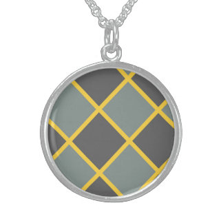 Beneficial Reserved Accomplishment Ethical Round Pendant Necklace