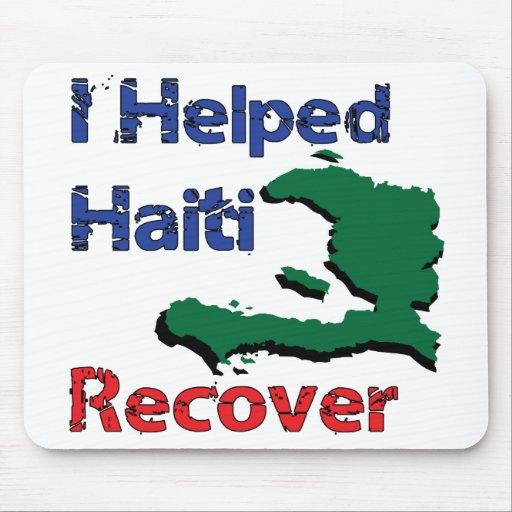 Beneficio a - ayudé a Haití Alfombrilla De Ratón