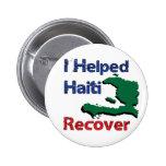 Beneficio a - ayudé a Haití Pin