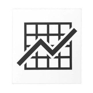 Beneficio del crecimiento de la carta blocs de papel