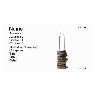 Beneficio vaccíneo tarjetas personales