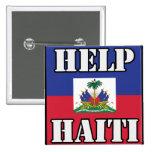 Beneficios - a la ayuda Haití Pins