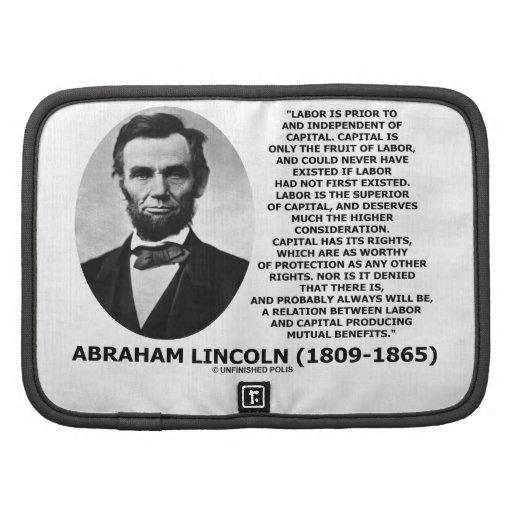 Beneficios mutuo capitales de trabajo de Abraham L Planificadores