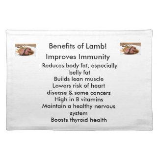 Benefits of Lamb-Placemat Cloth Placemat