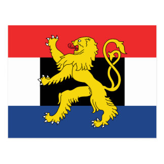 Benelux Flag Postcard