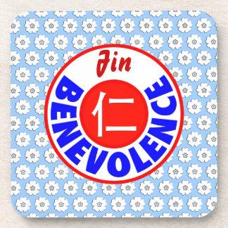 Benevolence - Jin Drink Coasters