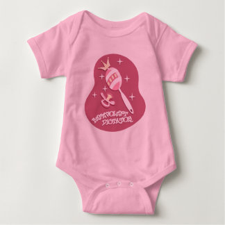 Benevolent Dictator - Pink Baby Bodysuit