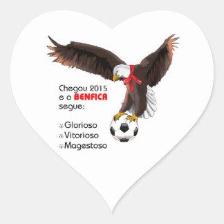 Benfica 2015 heart sticker
