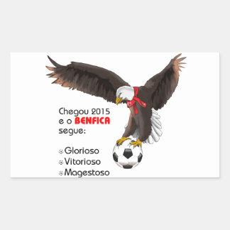 Benfica 2015 rectangular sticker