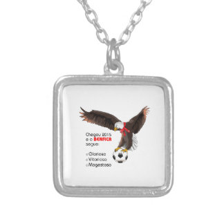 Benfica 2015 silver plated necklace