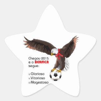 Benfica 2015 star sticker