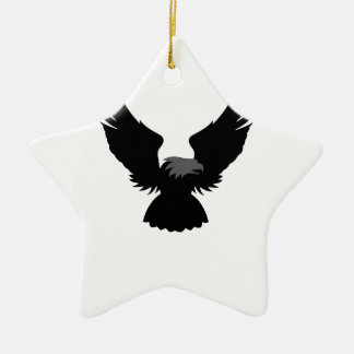 Benfica eagle Double-Sided star ceramic christmas ornament
