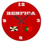 Benfica* Portugal Wallclock Reloj