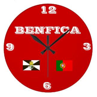 Benfica* Portugal Wallclock Reloj Redondo Grande