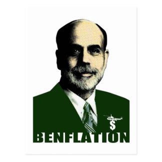 Benflation Postcard
