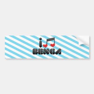 Benga Bumper Sticker