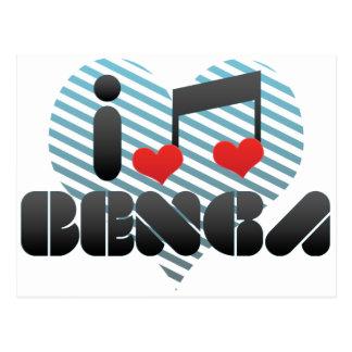 Benga Postcard