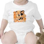 Bengal baby tiger bodysuit