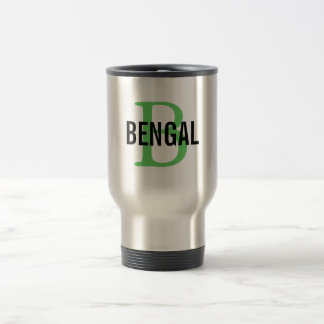 Bengal Breed Monogram Travel Mug