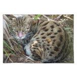 Bengal Cat 005 Cloth Place Mat