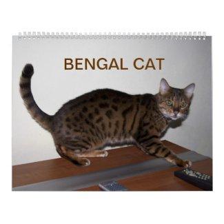Bengal Cat 2015 Calendars