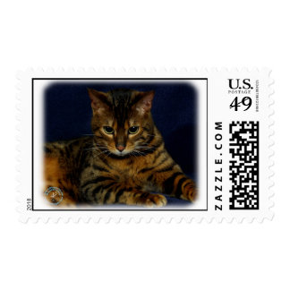 Bengal Cat 9W080D-128 Postage