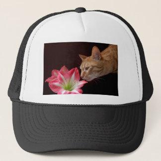 Bengal Cat Amaryllis jjhelene Trucker Hat