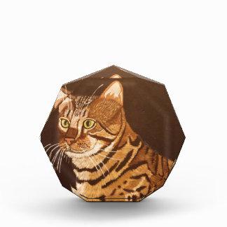 Bengal Cat Acrylic Award