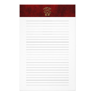 Bengal Cat Breed Lined Stationery