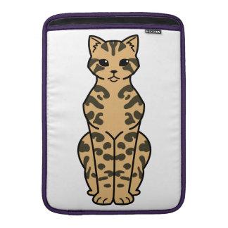Bengal Cat Cartoon MacBook Air Sleeves