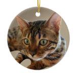 Bengal Cat Christmas Tree Ornaments
