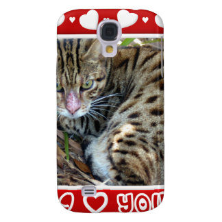 Bengal Cat Cool  Galaxy S4 Case