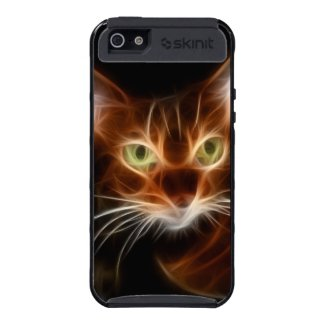 Bengal Cat Fractal iPhone 5 Cover