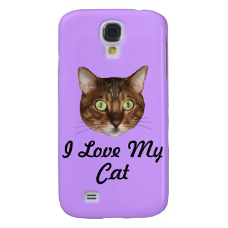 Bengal Cat Head Samsung Galaxy S4 Cover