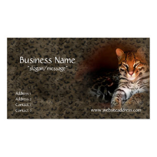 Bengal Cat/Kitty Business Cards