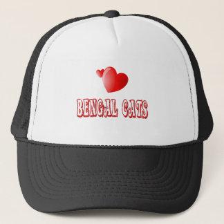 Bengal Cat Love Trucker Hat