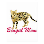 Bengal Cat Mom Postcards