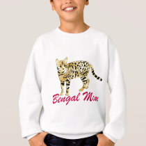 Bengal Cat Mom Sweatshirt