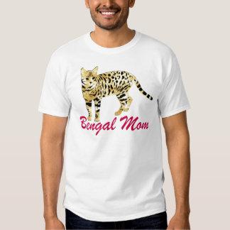 Bengal Cat Mom T-shirt