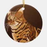 Bengal Cat Ornament