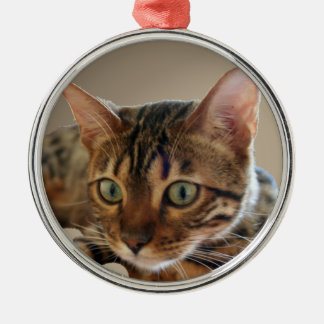 Bengal Cat Christmas Tree Ornaments