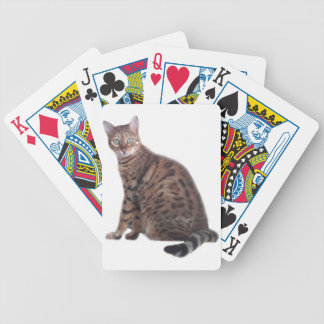 Bengal Cat Playing Cards